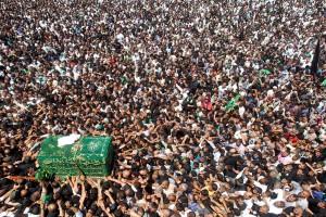 حضور بيش از 8 میلیون زائر در کاظمین + عکس