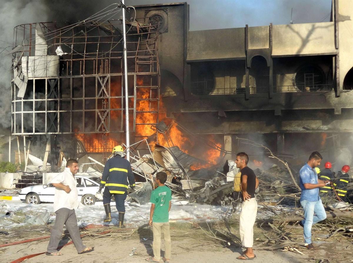 انفجارهای مرگبار کرکوک را به لرزه انداخت + عکس