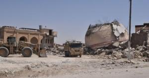 عکسهای جدید از تخریب زیارتگاهها به دست داعش