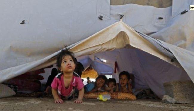 کودکان آواره در عراق