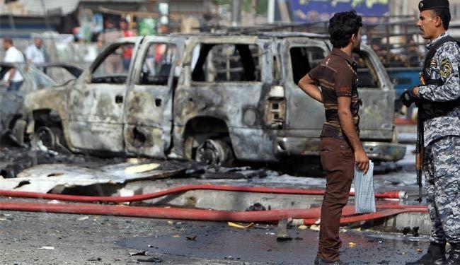 انفجار تروریستی در منطقه کاظمین در شمال پایتخت عراق، چندین کشته و مجروح برجا گذاشت